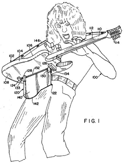 Eddie VH Patent