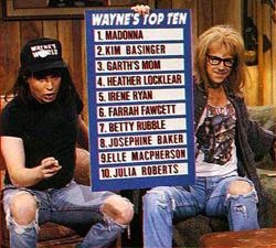 Wayne's Top 10