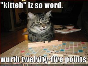 Cat Scrabble