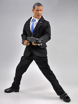 Obama the Bodyguard